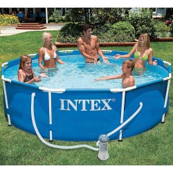 Piscine ronde tubulaire INTEX 305 cm