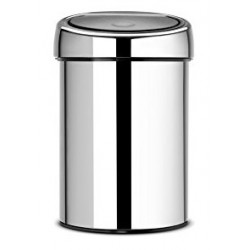 Poubelle BRABANTIA TouchBin 3L Chrome