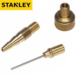 3 embouts de gonflage STANLEY