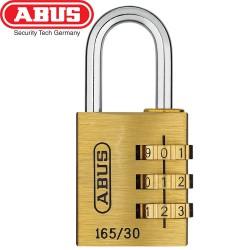 Cadenas à code laiton ABUS 165/30