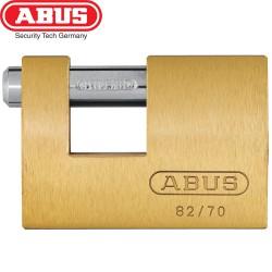 Cadenas monobloc laiton ABUS 82/70