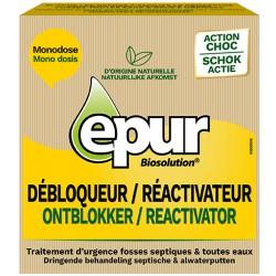 Débloqueur/réactivateur fosse EPUR