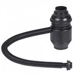 Collecteur tonneau eau de pluie noir