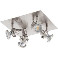 TUKON Plafonnier 4 spots LED