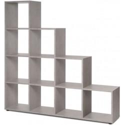 Etagère en escalier 10 cases MAX béton