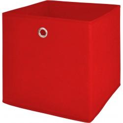 Box de rangement feutrine Rouge