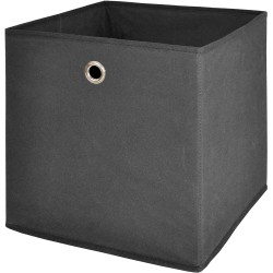 Box de rangement feutrine Anthracite