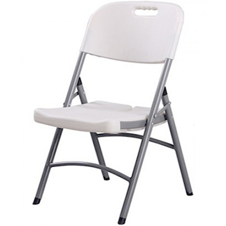 Chaise Pliante CONGRES Blanche