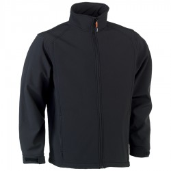 Veste soft SHELL JULIUS NOIR
