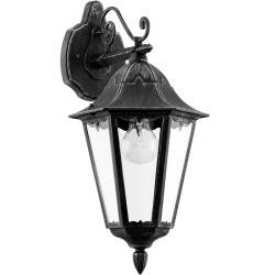 NAVEDO Lanterne basse - noir