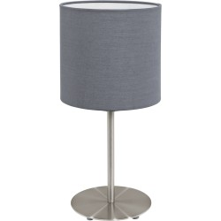 PASTERI Lampe de table grise