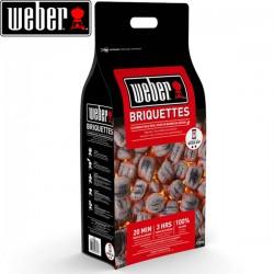 Briquettes de charbon de bois WEBER 8Kg