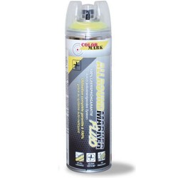 Spray marquage ALLROUND MARKER Jaune fluo