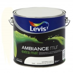 LEVIS AMBIANCE Mur extra mat Coquille d'Oeuf 2.5L