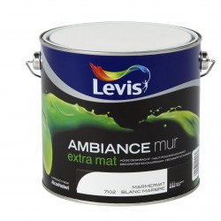 LEVIS AMBIANCE Mur extra mat Blanc Marbre 2.5L