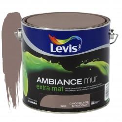 LEVIS AMBIANCE Mur extra mat Chocolat 2.5L