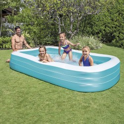 Piscine rectangulaire gonflable 305x183