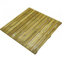 Dalle en pin traité 100x100cm