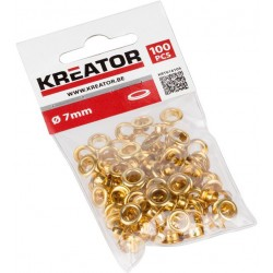 Oeillets en laiton 7mm - 100pcs
