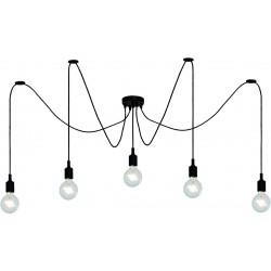 FIX Suspension araignée 5 lampes
