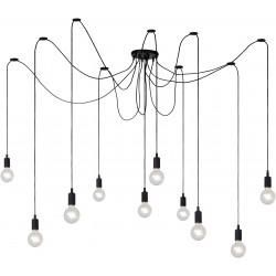 FIX Suspension araignée 10 lampes