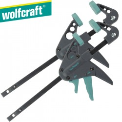 2 Serres-joints une main WOLFCRAFT EHZ 40-110