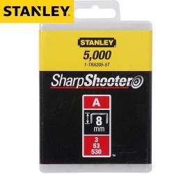 Agrafes STANLEY Type A 8mm - 5000Pcs