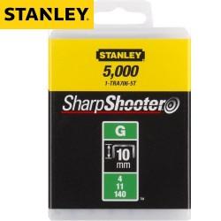 Agrafes STANLEY Type G 10mm - 5000Pcs