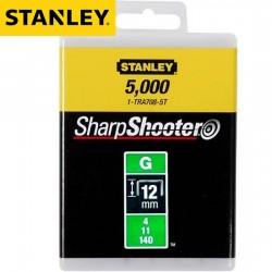 Agrafes STANLEY Type G 12mm - 5000Pcs