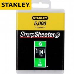 Agrafes STANLEY Type G 14mm - 5000Pcs