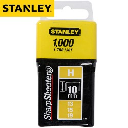 Agrafes STANLEY Type H 10mm - 1000Pcs