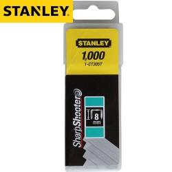 Agrafes STANLEY Type CT 8mm - 1000Pcs