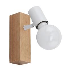 TOWNSHEND Spot simple base bois - blanc