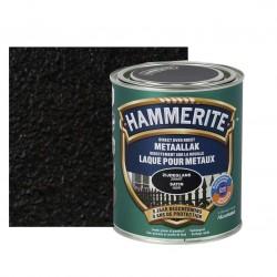 HAMMERITE laque satinée noir 0,75L