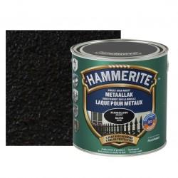 HAMMERITE laque satinée noir 2,5L