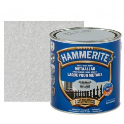 HAMMERITE brillant gris argent 2,5L