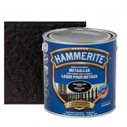 HAMMERITE brillant noir 2,5L