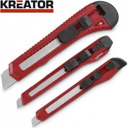 Set de 3 cutters PVC KREATOR
