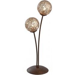 KRETA Lampe de table 2 boules