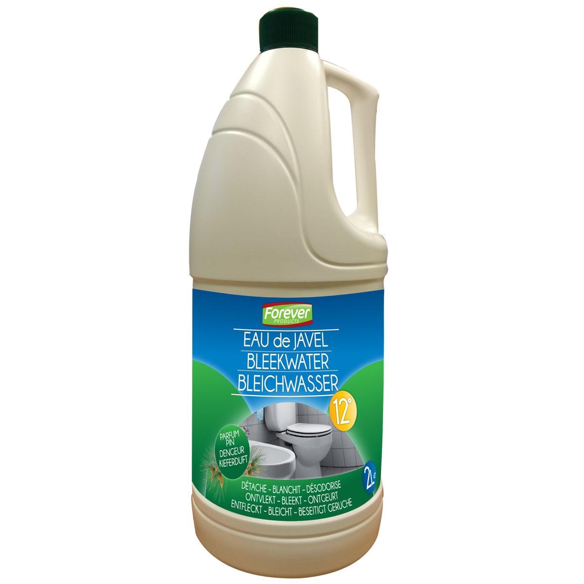 Nettoyage Dalle Piscine Javel eau de javel 12° parfum sapin 2l