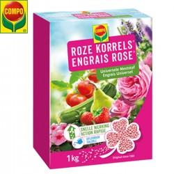 Engrais rose universel COMPO - 1Kg