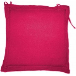 Coussin galette MARY Framboise