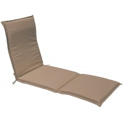 Coussin lit de soleil MARY Taupe