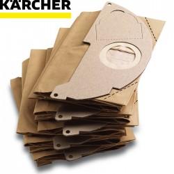 5 Sacs pour aspirateur KARCHER MV2/WD2/A20xx