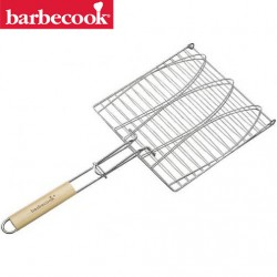 Grille barbecue 3 poissons BARBECOOK
