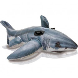 Requin blanc gonflable