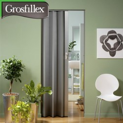 Porte accordéon GROSFILLEX Spacy gris