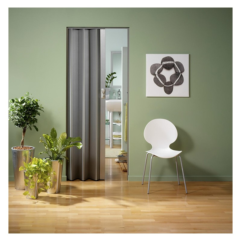 Porte accord on grosfillex spacy gris - Porte accordeon grosfillex prix ...