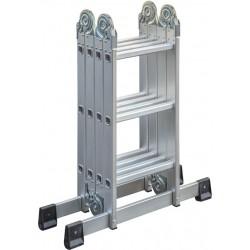 Echelle repliable en aluminium 4x3
