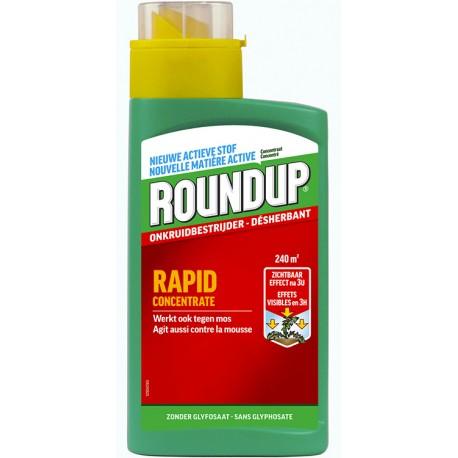 Désherbant total Roundup Rapid 540ml
